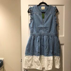 Kate Spade Dip Dyed Denim Dress